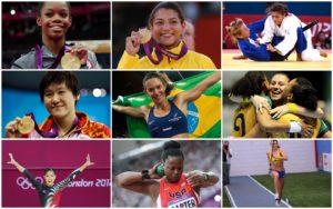 direito das mulheres a participar das olimpiadas