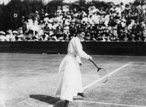 Mulheres no esporte - tenista Chalotte Cooper
